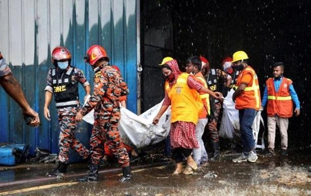 Пожар на фабрике в Бангладеш: появились подробности