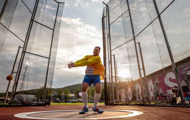 Українець Кохан став чемпіоном Європи серед молоді з метання молота
