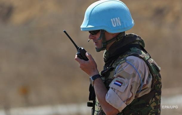 В Мали на мине подорвались миротворцы ООН