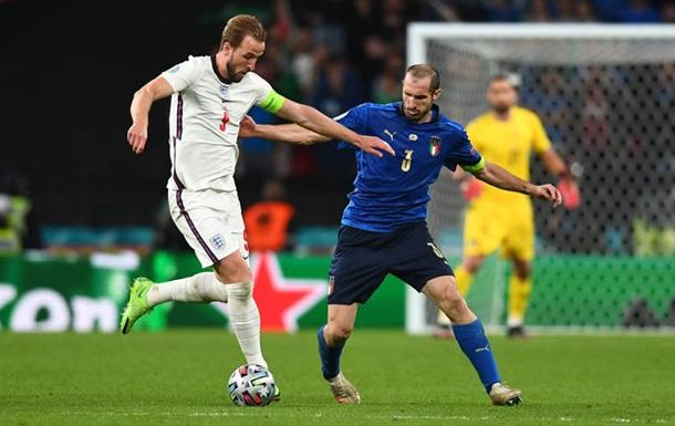 Італія - Англія 1:1 (3:2). Онлайн фіналу Євро-2020