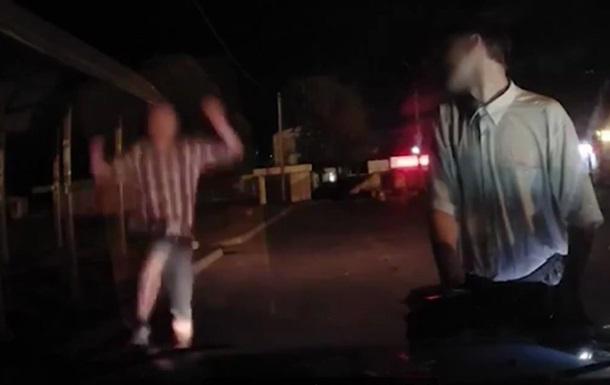 В Фастове мужчина напал на копов