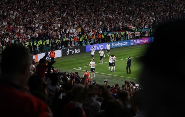 УЄФА оштрафував Англію грошовим штрафом за підсумками матчу з Данією
