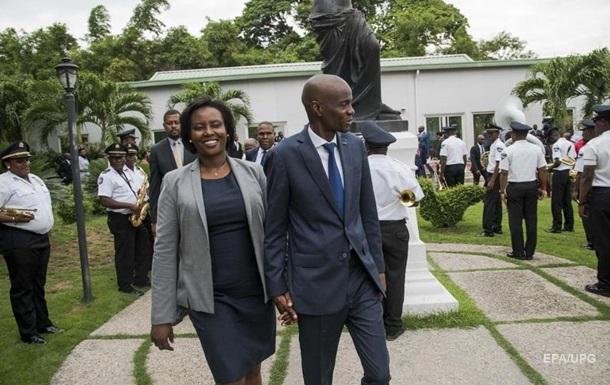 Дружина президента Гаїті вперше після його вбивства зробила заяву