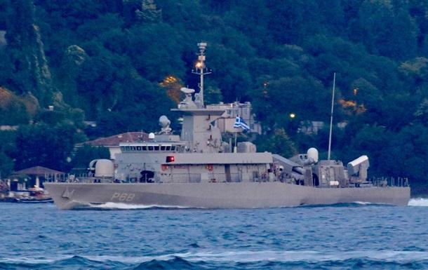 Грецький ударний катер увійшов у Чорне море