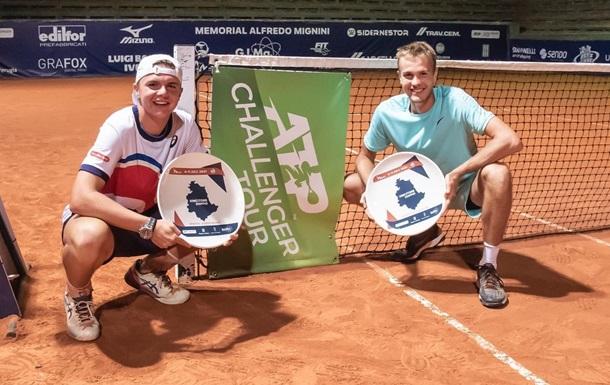 Украинец Сачко выиграл парный челленджер ATP в Италии