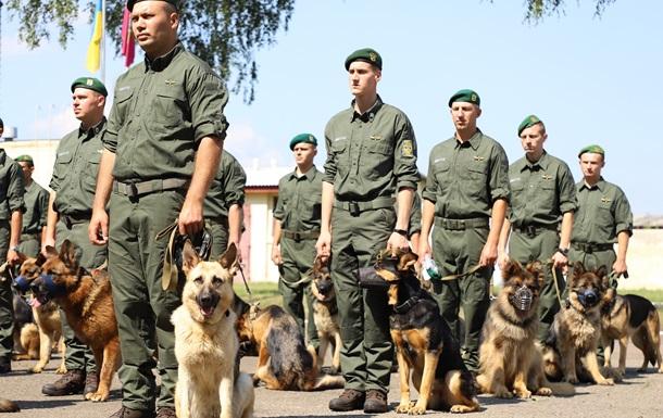 Собаки прикордонників вперше пройдуть у параді до Дня Незалежності
