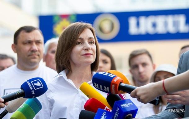 Партія Санду лідирує на виборах в Молдові