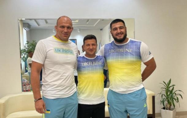 Сборная Украины представила новую олимпийскую форму