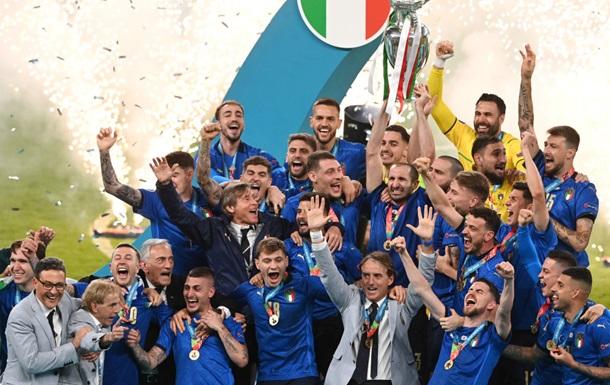 Стал известен размер бонуса игрокам Италии