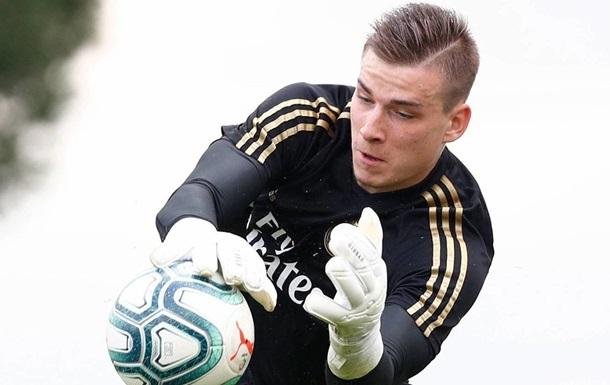 Лунін взяв участь у товариському матчі Реала з Фуенлабрадою