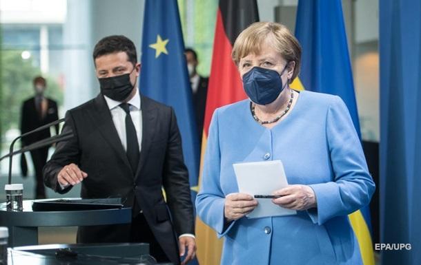 Переговоры Зеленского и Меркель продолжались более 4 часов - ОП