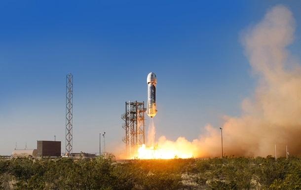 Компанія Безоса отримала ліцензію на польоти людей у космос