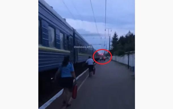 В Одесской области горел поезд Одесса-Ковель