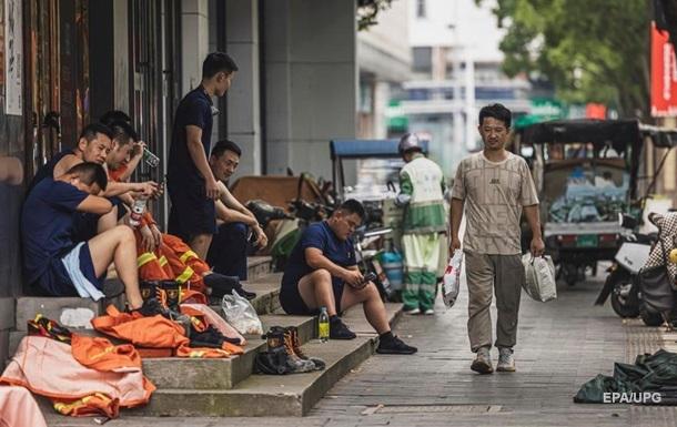 Обрушения отеля в Китае: число жертв выросло