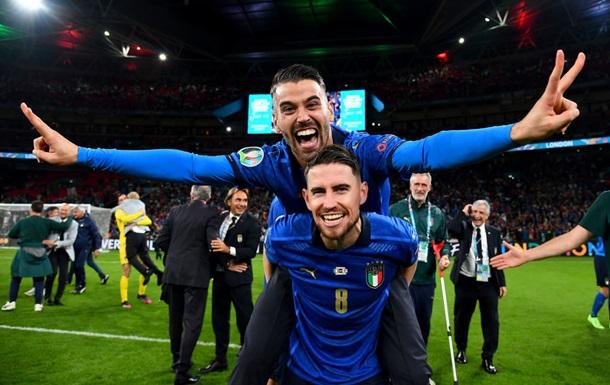 П ять італійських гравців потрапили в символічну збірну Євро-2020 за версією УЄФА