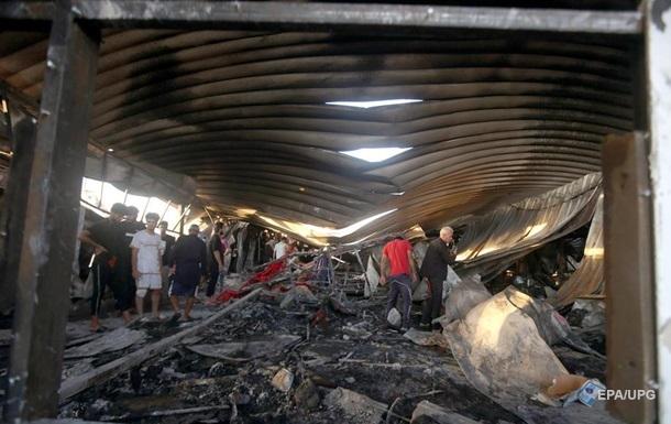 Пожар в больнице Ирака: число жертв выросло
