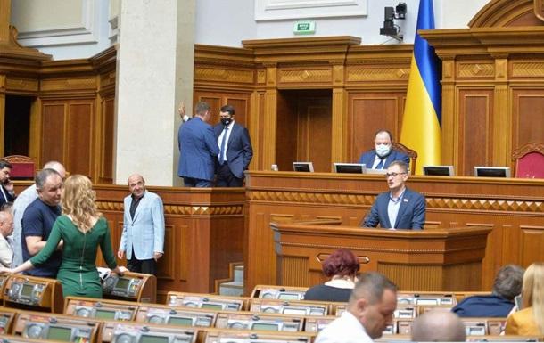 Рада проведет третье внеочередное заседание за неделю
