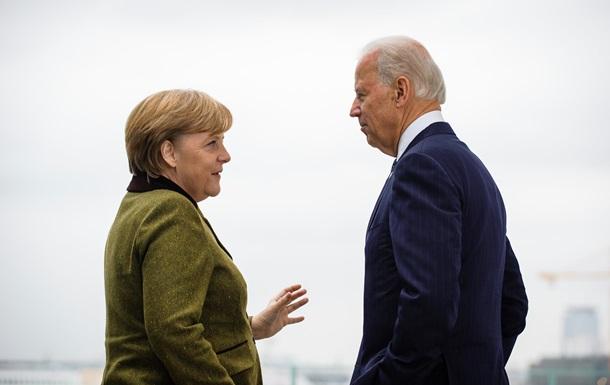 Говорить об Украине и СП-2. Меркель едет к Байдену