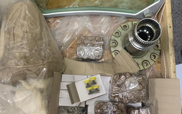 СБУ предотвратила контрабанду авиакомплектующих