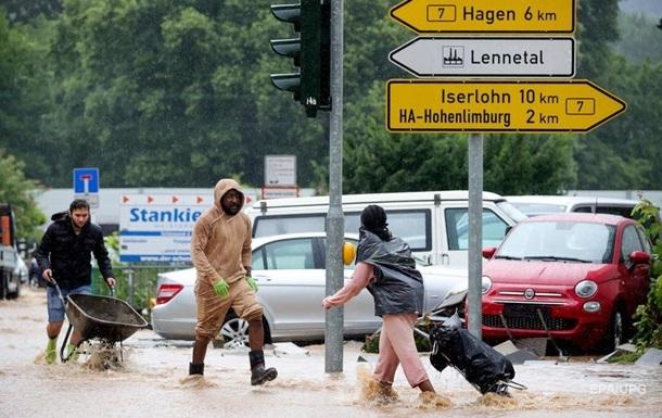 Жертвами повені в Європі стали майже 50 людей