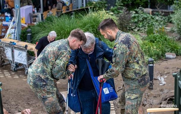 В Германии более тысячи человек пропали после потопа