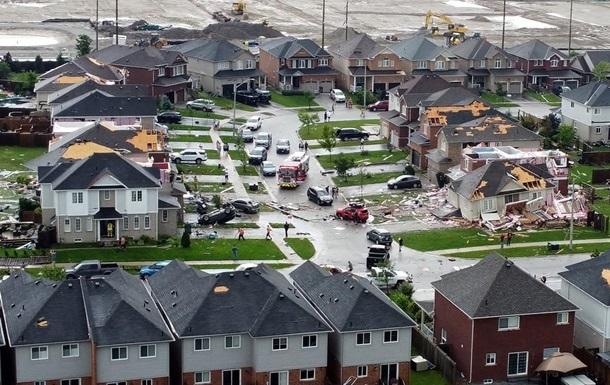 У Канаді торнадо зруйнував житловий квартал