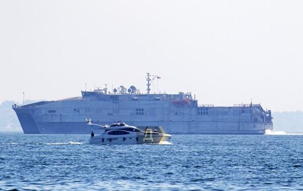 Корабель ВМС США залишив Чорне море
