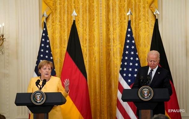 Байден і Меркель прийняли спільну декларацію