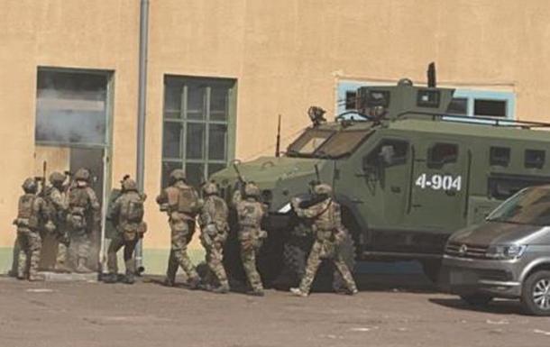 Навчання антитерористичного центру під керівництвом СБУ (ВИДЕО)