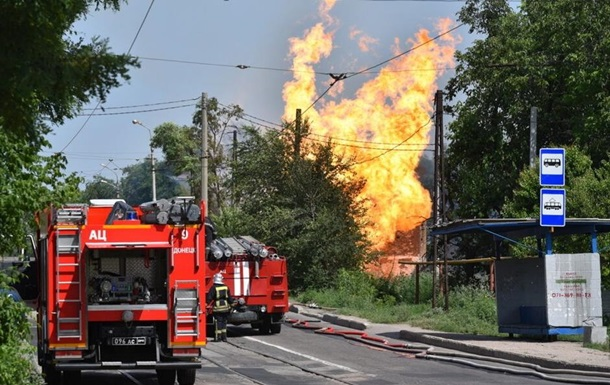 В Донецке взорвался газопровод