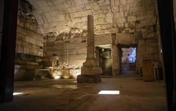 В Ізраїлі під Стіною Плачу виявили їдальню для римської знаті