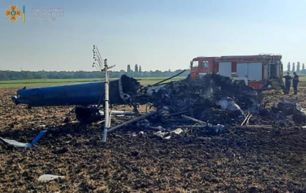 З явилися фото аварії вертольота на Миколаївщині