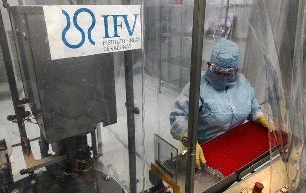 На Кубі оновили дані про ефективність власної вакцини Abdala