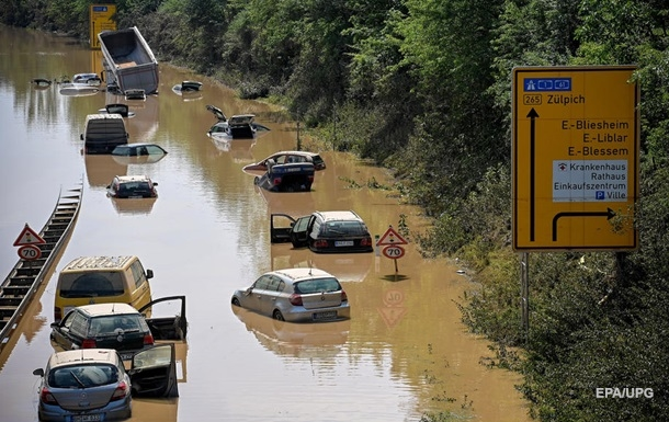 Через повінь припинено транспортне сполучення ФРН-Чехія