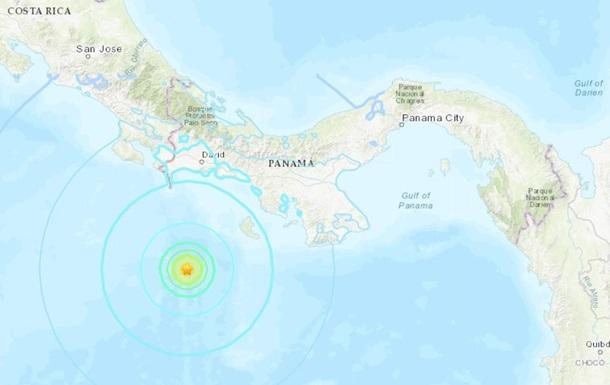 У берегов Панамы произошло сильное землетрясение