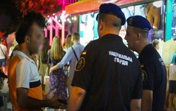 Силовики проводять патрулювання в Одесі