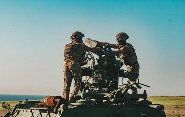 Под Мариуполем прошли учения ПВО