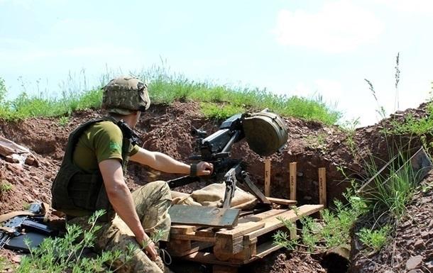 Сепаратисти двічі обстріляли позиції ЗСУ