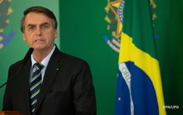 Президента Бразилії виписали з лікарні