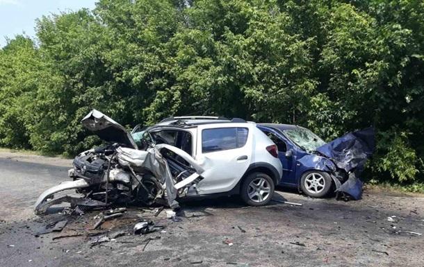 В Харьковской области при столкновении двух авто погиб человек