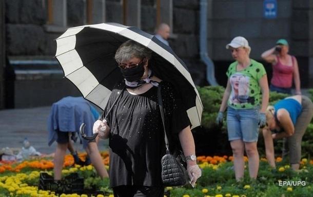В Україні менш як 200 випадків COVID за добу