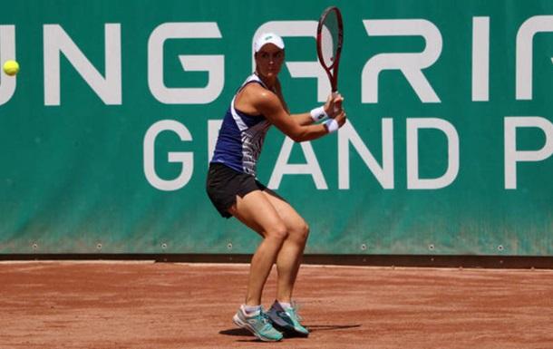 Калініна назвала причину поразки у фіналі турніру в Будапешті