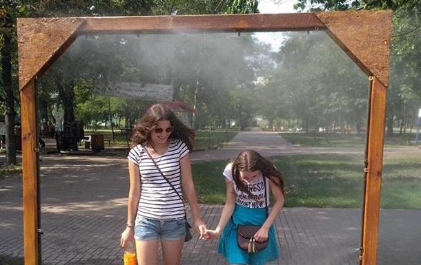В Киеве зарегистрировали самый теплый день за 141 год