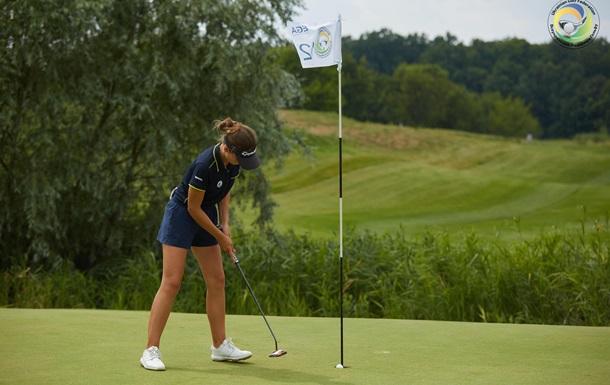 Чемпионат Украины по гольфу выиграла самая молодая участница