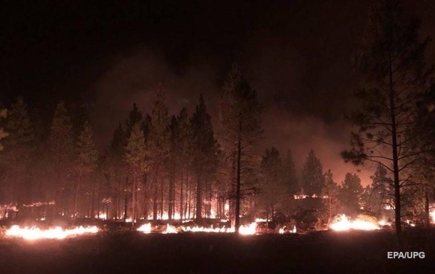 У США вирують масштабні лісові пожежі