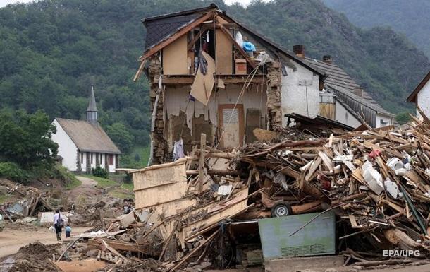 Число жертв наводнения в Германии достигло 169