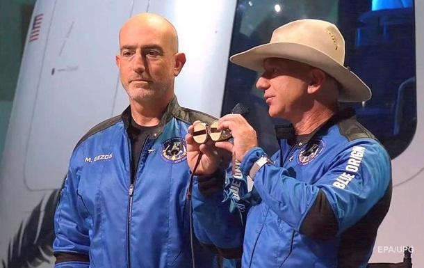 Безос поділився враженнями від польоту на New Shepard