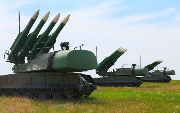 Установки Бук провели навчання біля Криму
