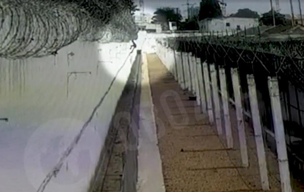 Втеча з одеського СІЗО потрапила на відео