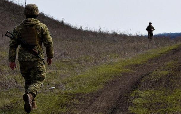 На Донбассе подорвался боец ВСУ